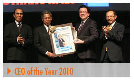 CEO of Year 2010