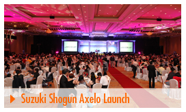 Suzuki Shogun Aexlo Launch